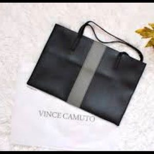 New! Vince Camuto leather bag w/ protective sleeve